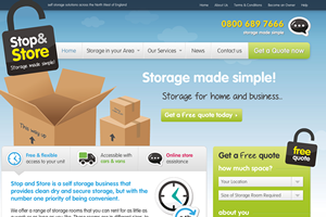 storage-facility-website